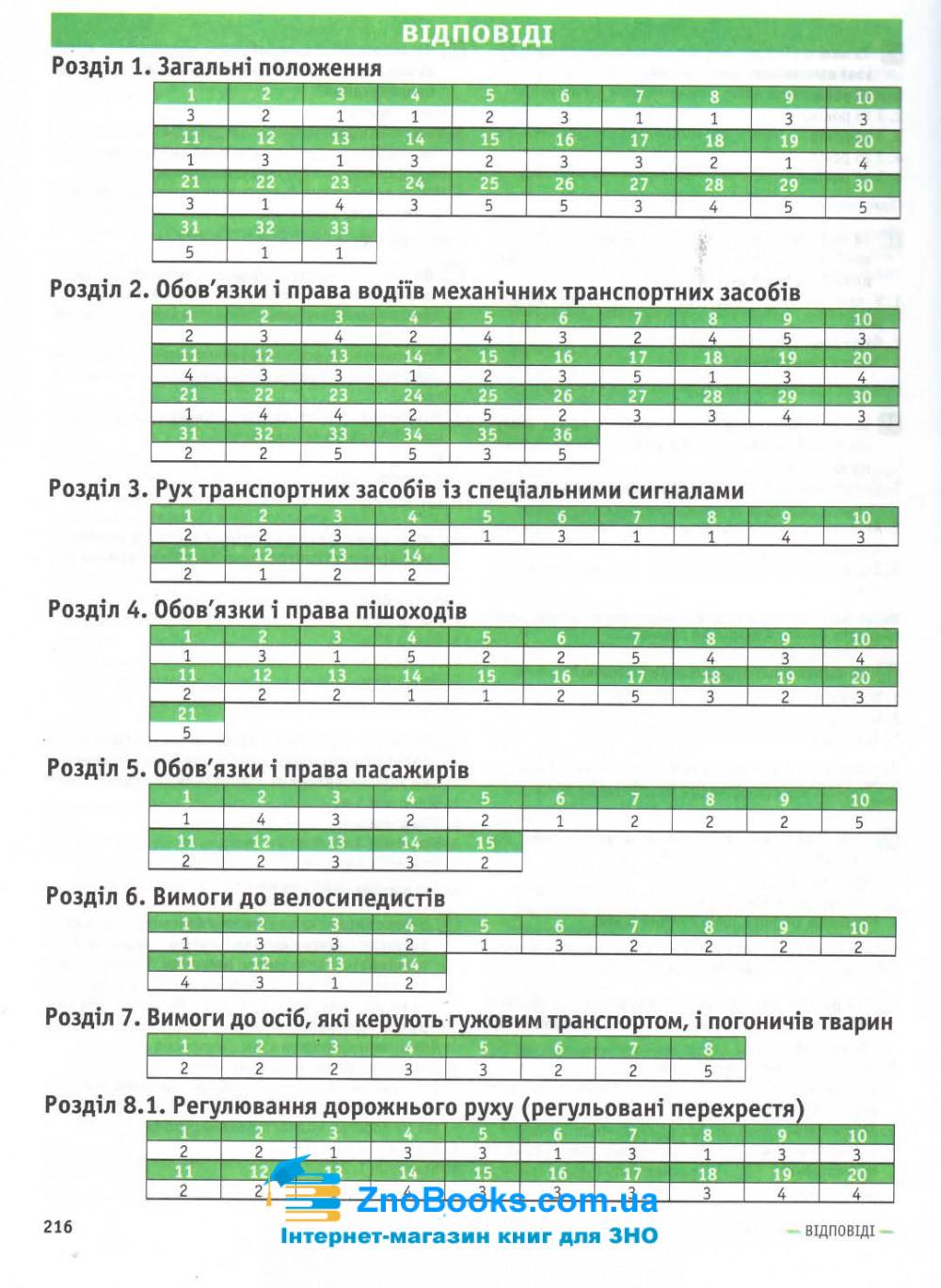 Тестові питання до екзаменаційних білетів для складання іспиту з ПДР : відповідає офіційному тексту 9