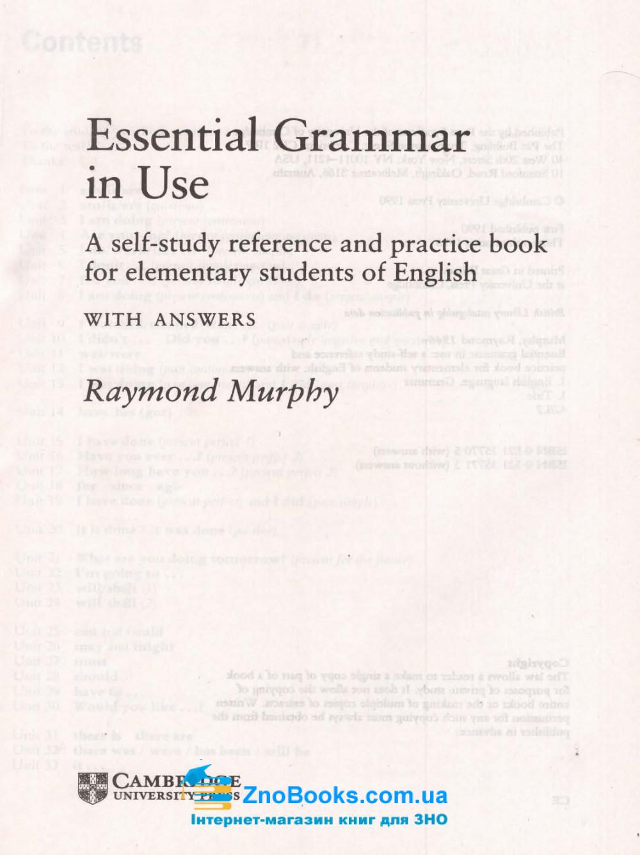 Essential Gгаmmаг іn Usе. Граматика англійської мови для початківців : Murphy Raymond CAMBRIDGE UNIVERSITY PRESS купити 1