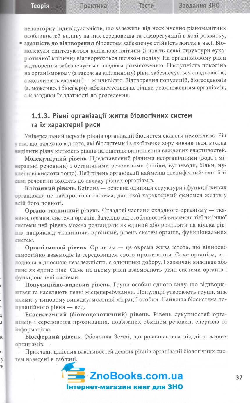 Біологія ЗНО і ДПА 2022. Навчально-практичний довідник : Кравченко М. Торсінг. купити 9
