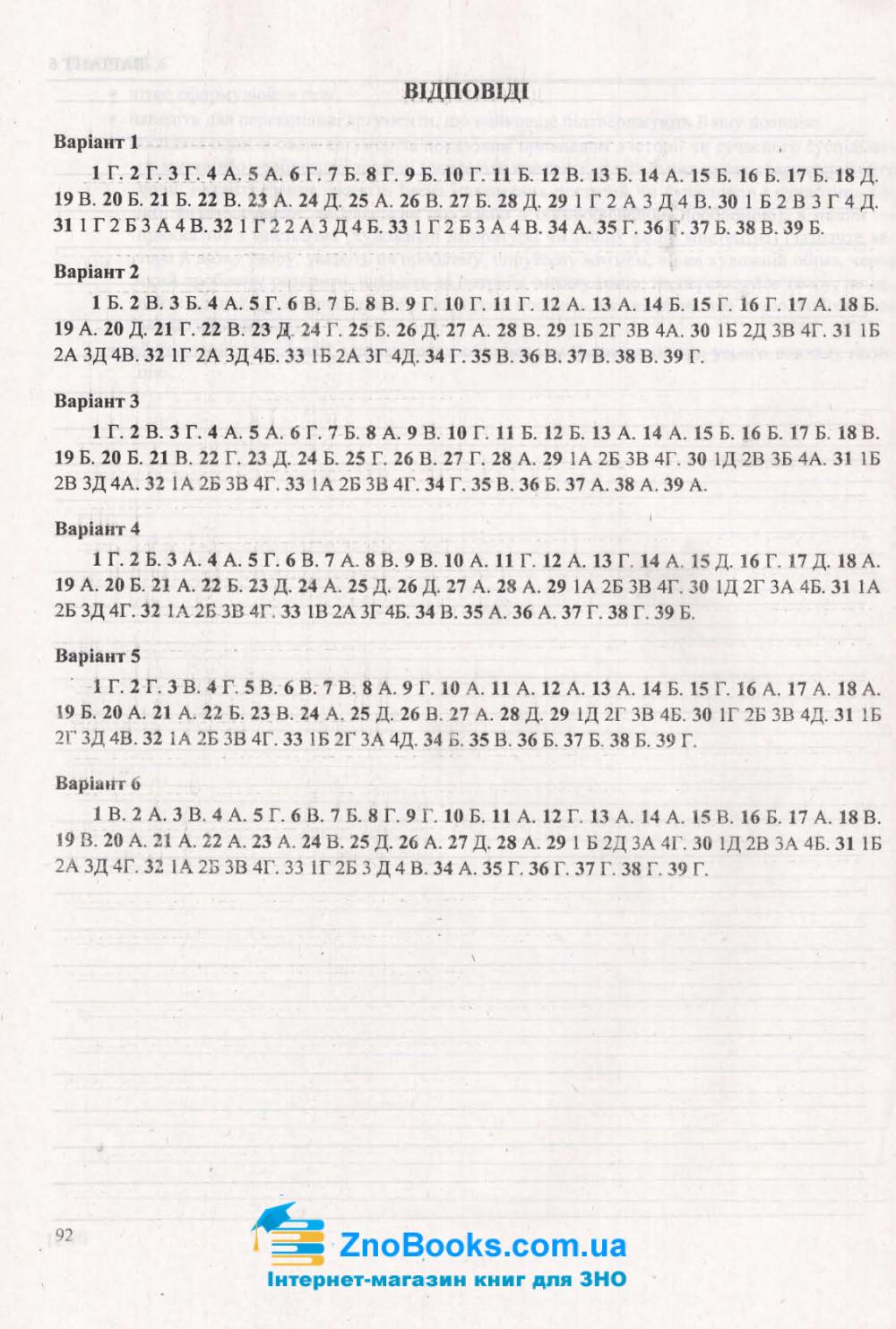 ЗНО 2021 Українська мова. Тренажер /НОВИЙ/ : Білецька О. Підручники і посібники. купити 10