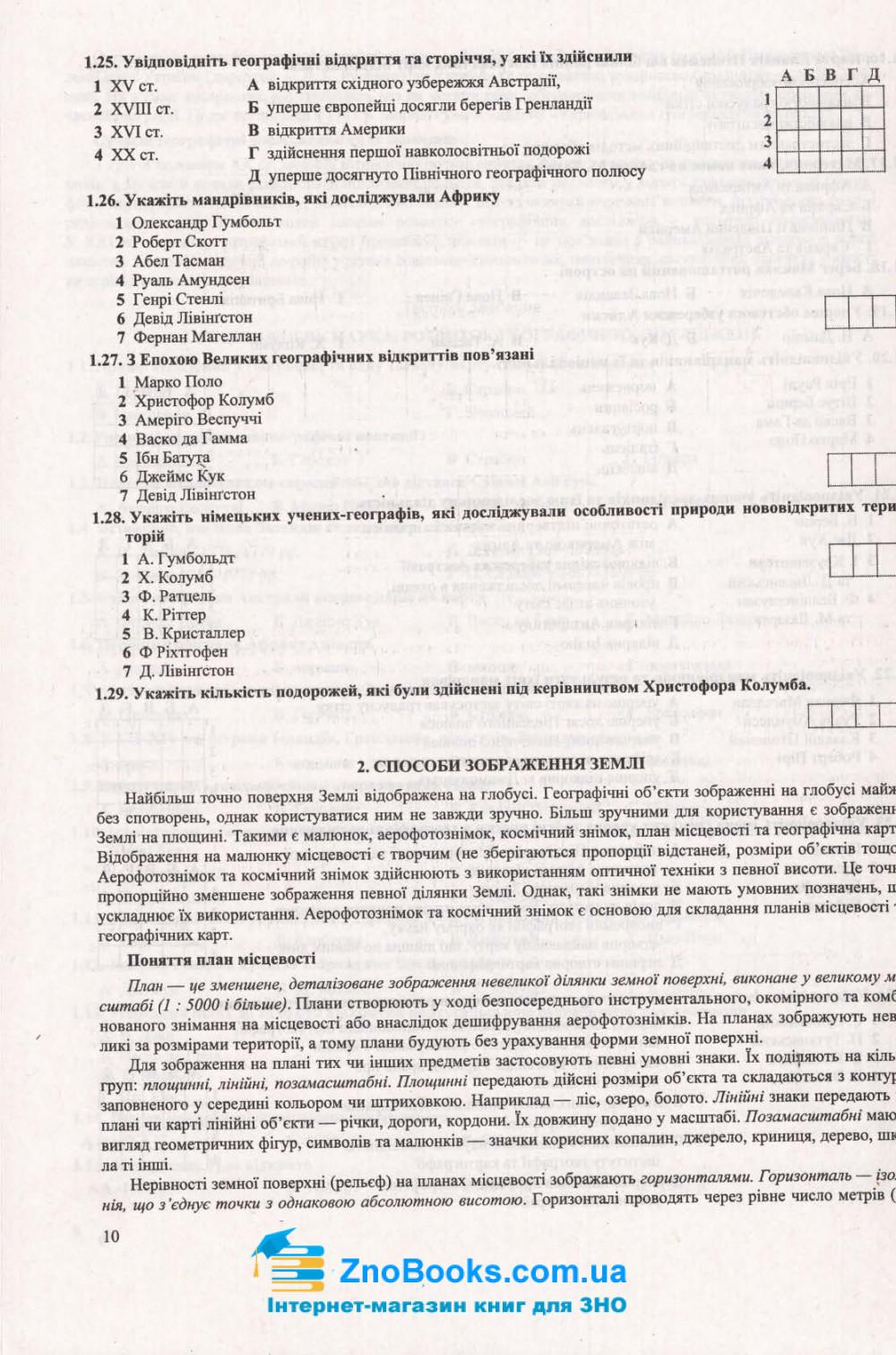 ЗНО 2021 Географія. Комплексне видання : Кузишин А. Підручники і посібники. купити 10