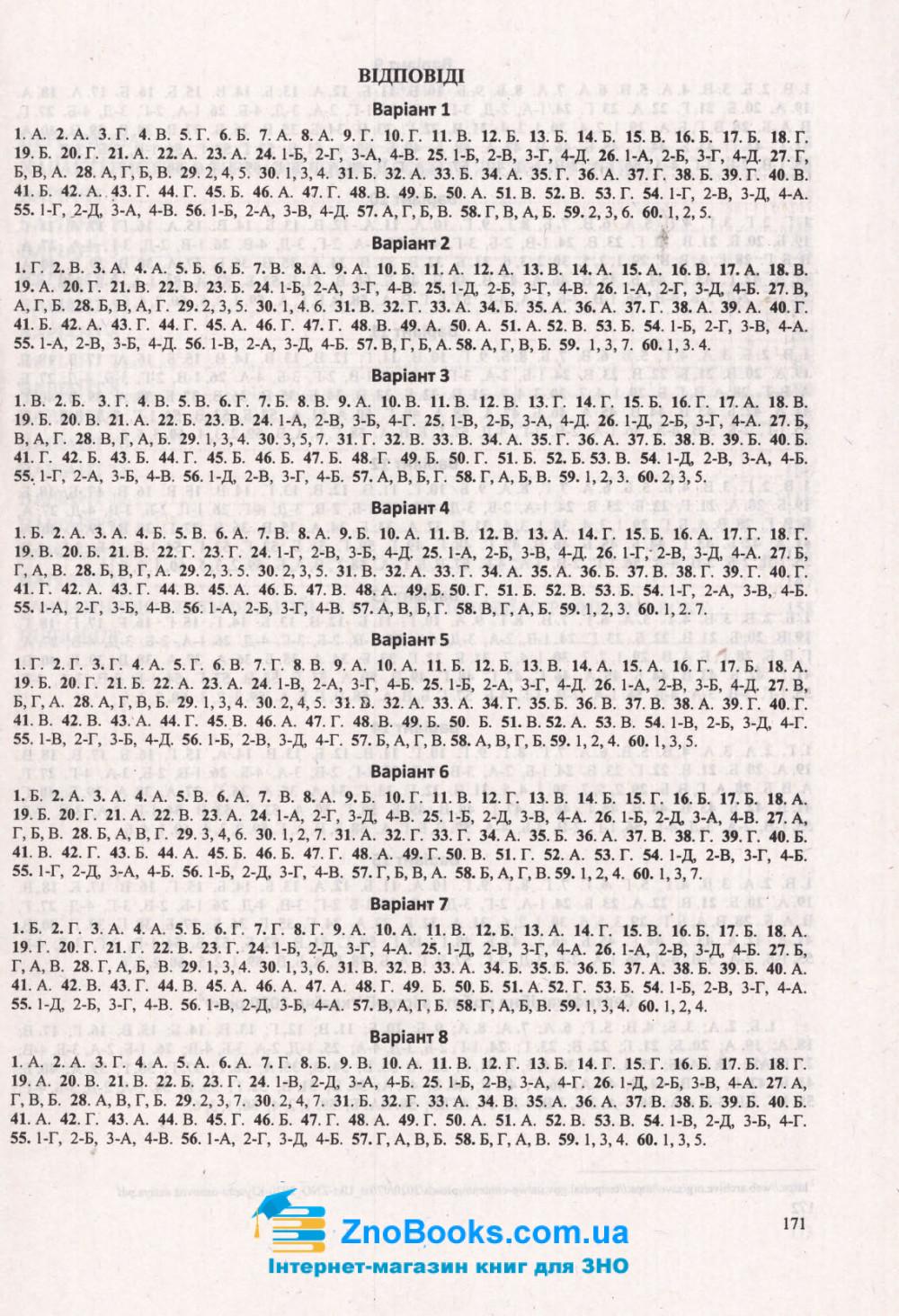 ЗНО 2022 Історія України. Тренажер : Панчук І. Підручники і посібники. купити  9