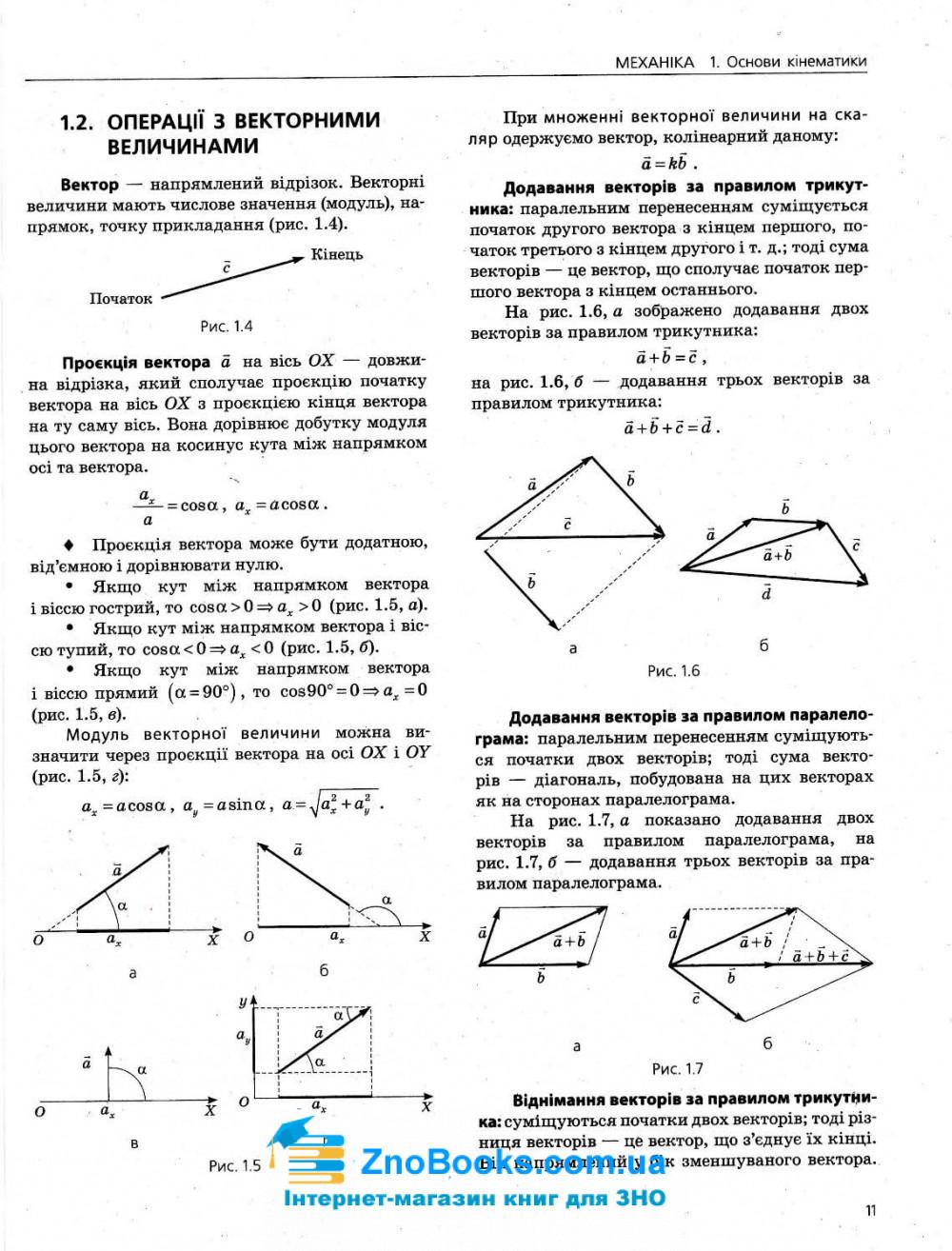 ЗНО 2021 Фізика. Комплексне видання : Альошина М. Літера. купити 11