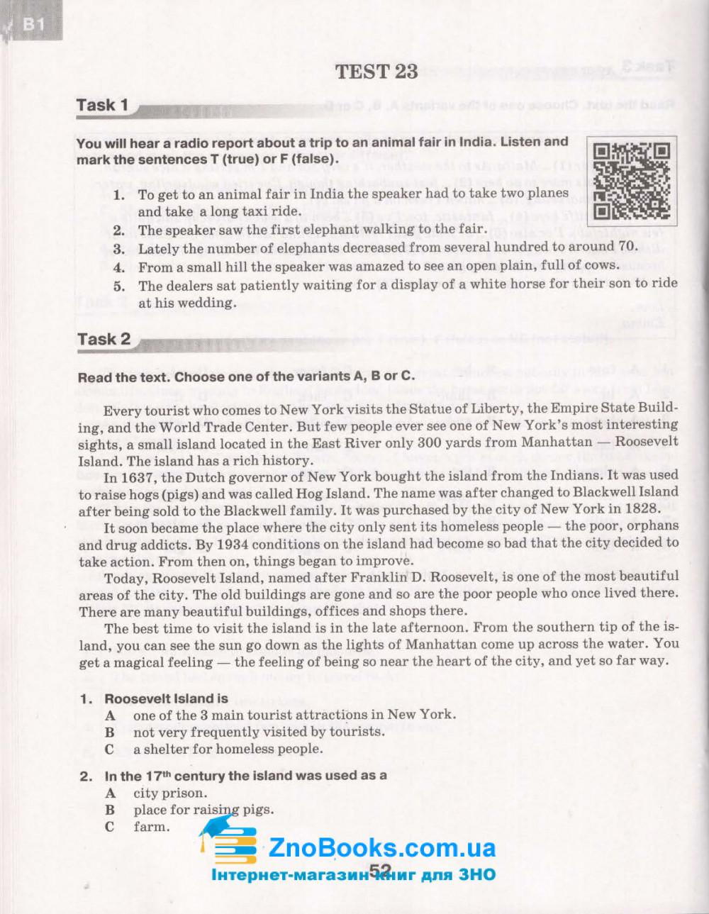 Константинова О. ДПА 2021 Англійська мова 9 клас. Збірник завдань : Освіта купити 7