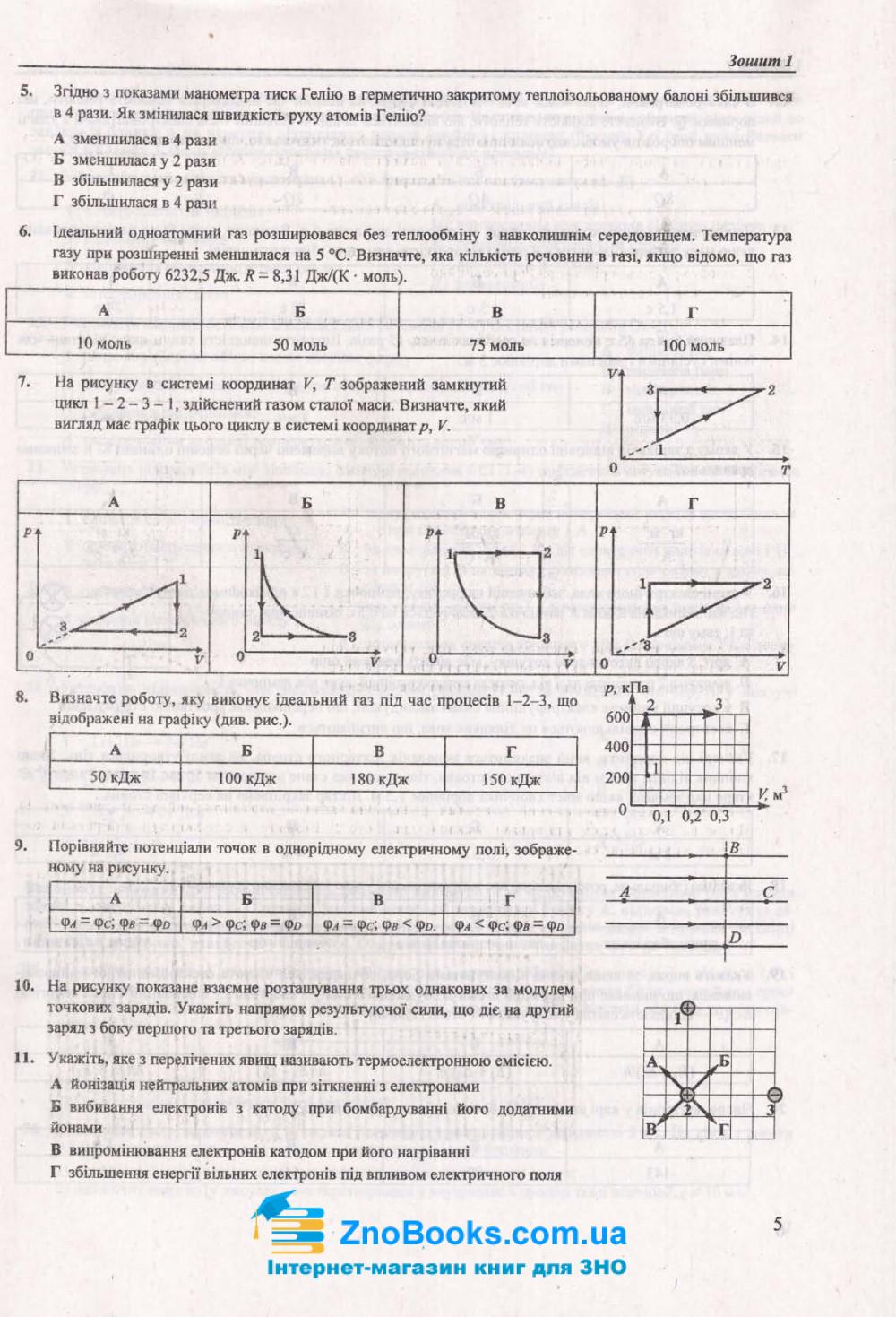 Фізика ЗНО 2021. Тренажер : Струж Н. Підручники і посібники. купити 5