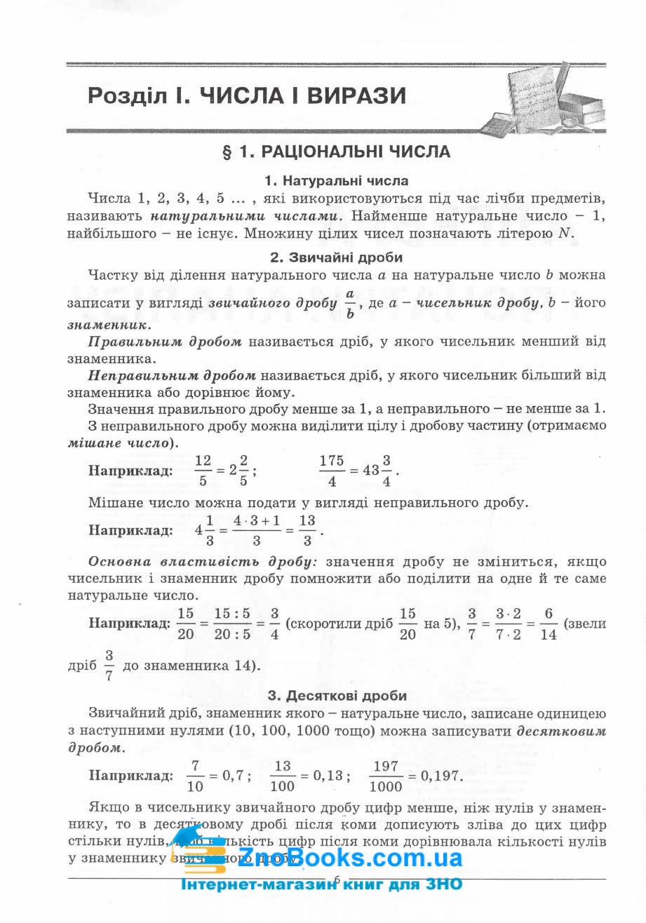 Математика ЗНО 2021. Комплексне видання : профільний рівень стандарту. Істер О. 7