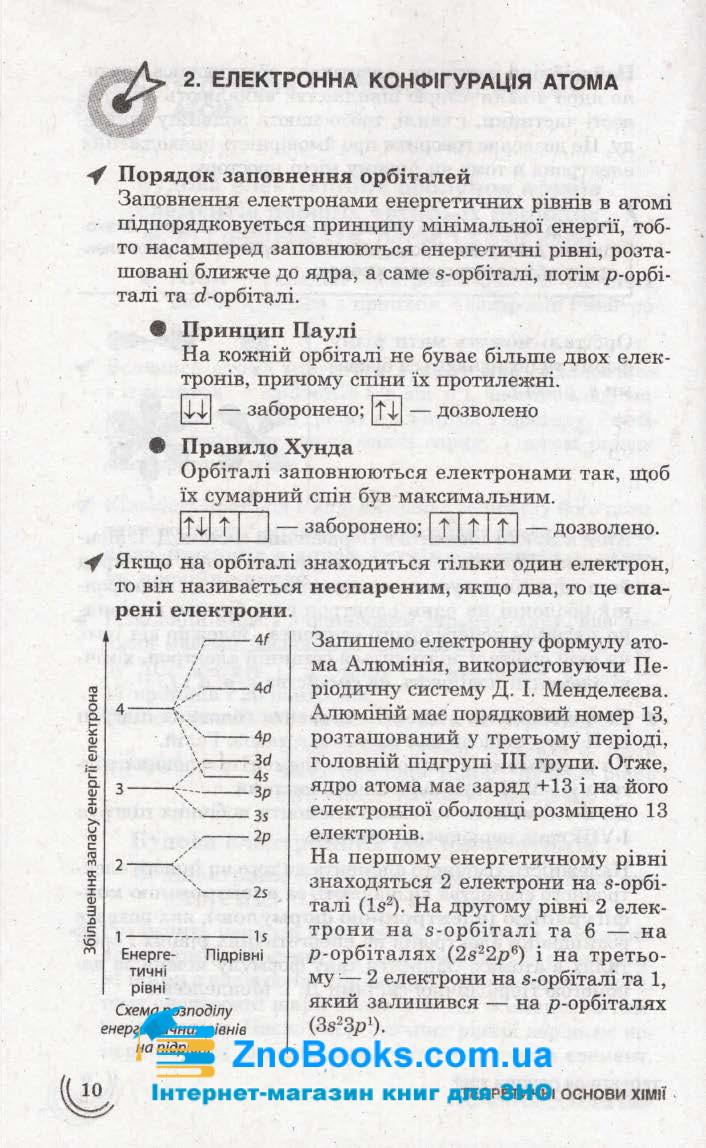 Хімія 100 тем. Довідник. Експрес-допомога до ЗНО : Мєшкова О. : Асса. купити 9