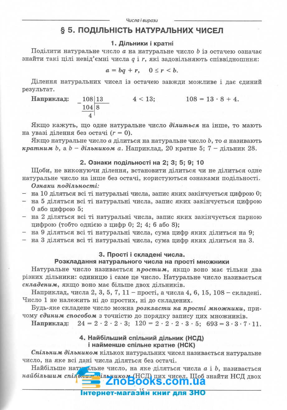 Математика ЗНО 2021. Комплексне видання : профільний рівень стандарту. Істер О. 12