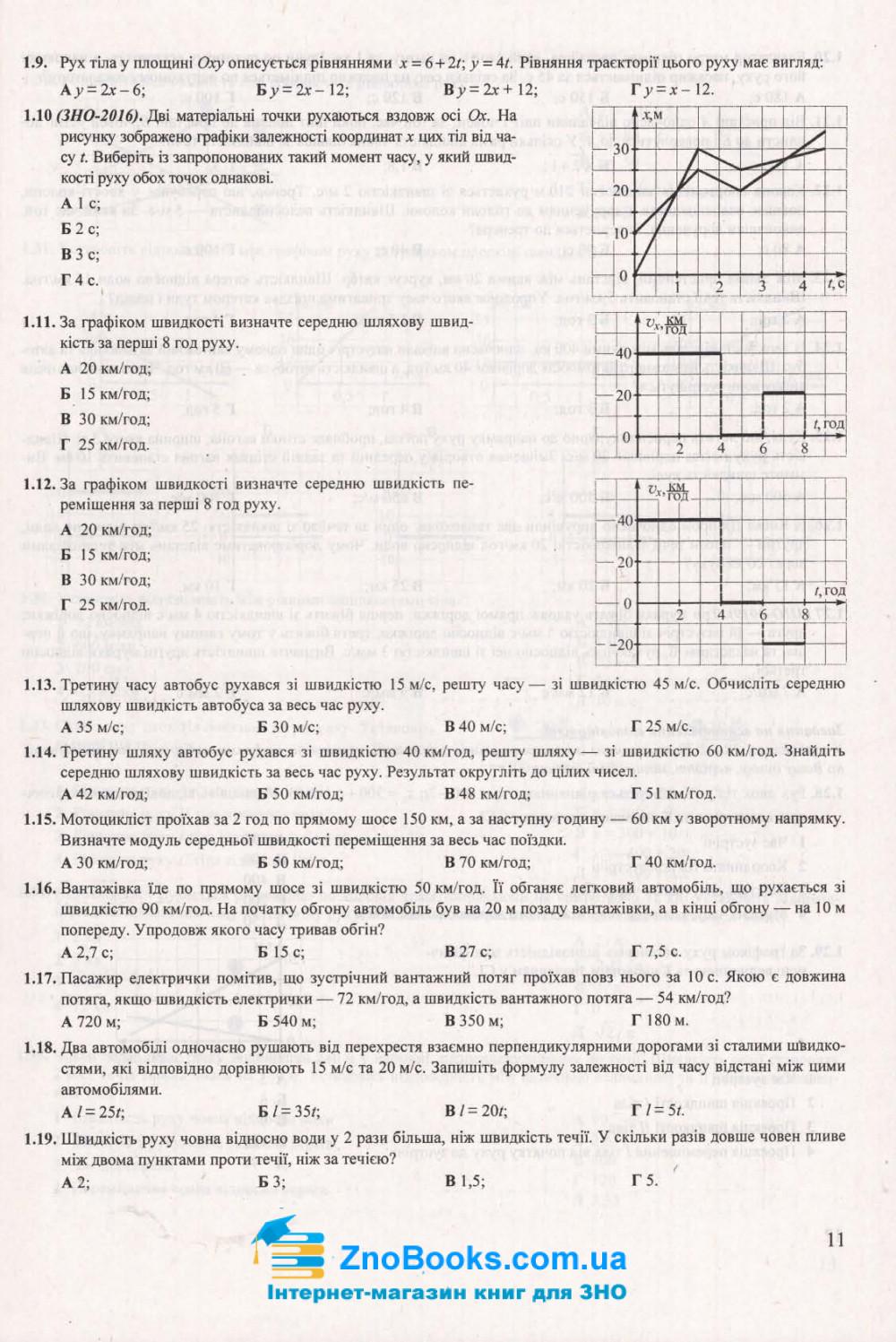 ЗНО 2021 Фізика. Комплексне видання : Струж Н. Підручники і посібники. купити 9