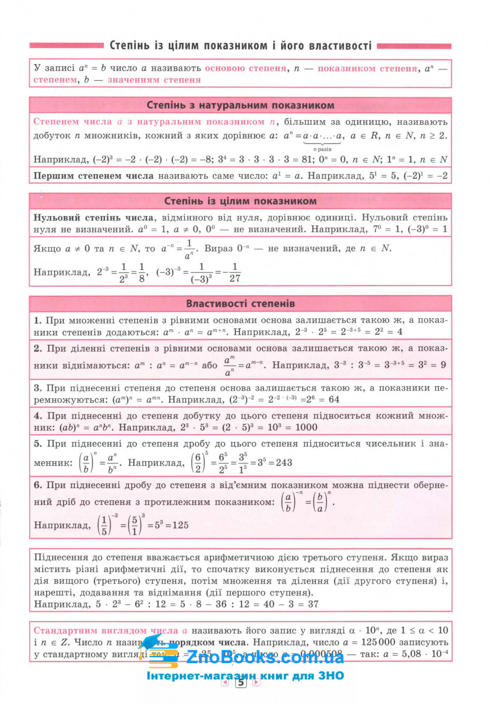 Алгебра 7-11 класи. Серія «Довідник у таблицях» : Роганін О. М. УЛА. купити 5