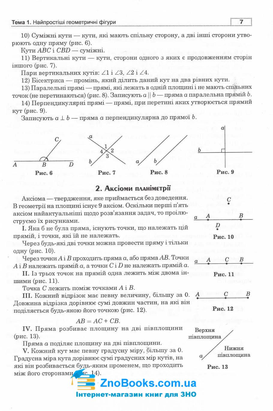 Клочко І. Математика ЗНО 2022. Геометрія. Частина 1 : Навчальна книга - Богдан. 7