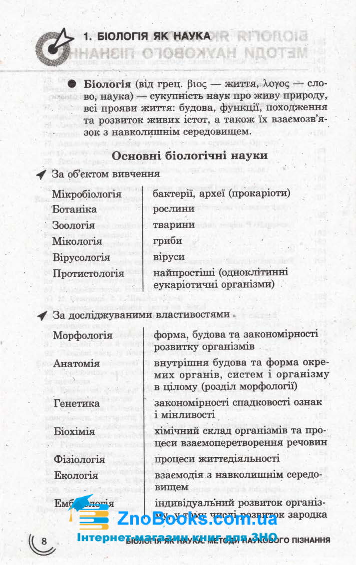 Біологія 100 тем. Довідник. Експрес-допомога до  ЗНО : Джамєєв В. Асса. купити 7