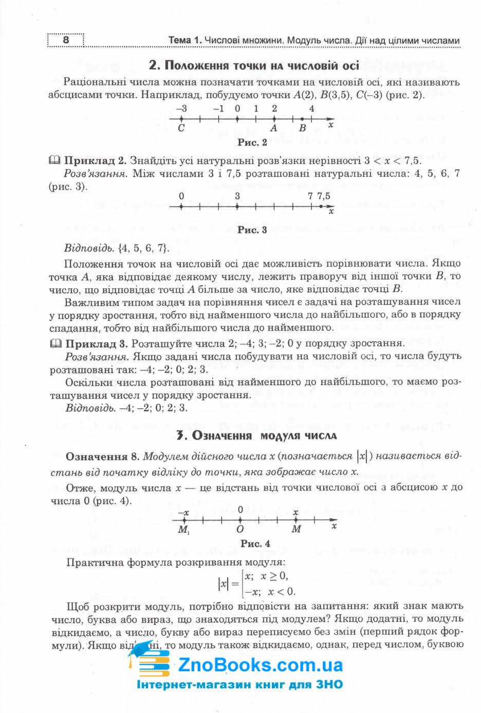 Клочко І. Математика ЗНО 2021. Алгебра рівень стандарту. Частина 1 :  Навчальна книга - Богдан. 6