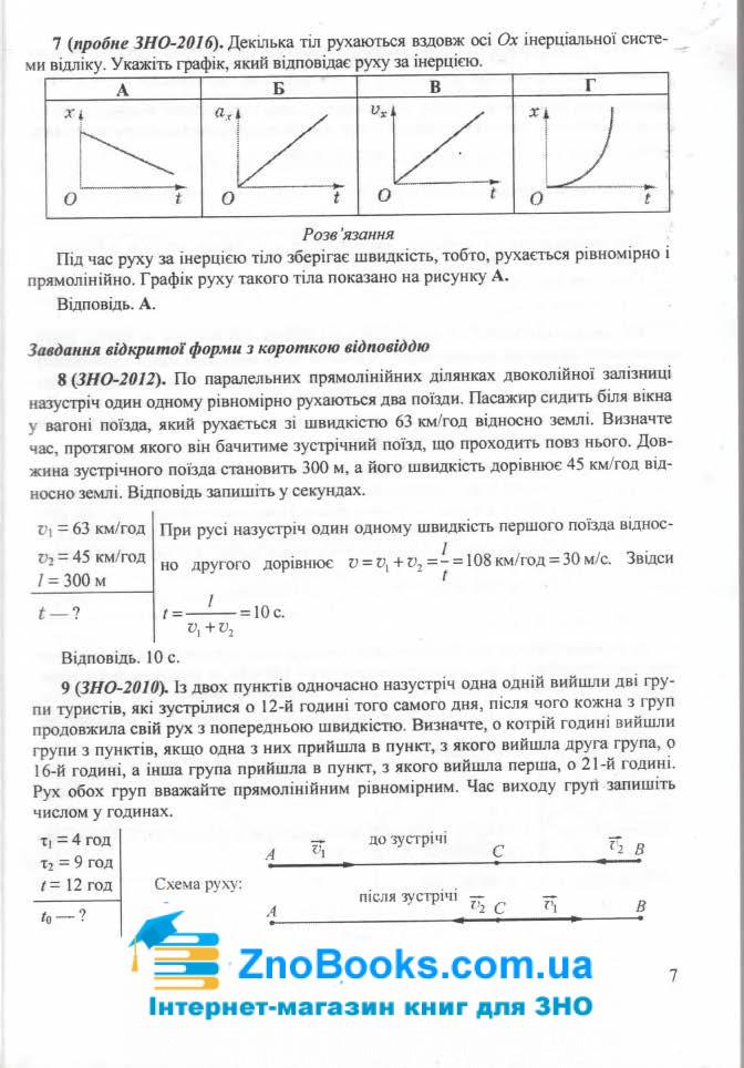 ЗНО 2021 Фізика. Міні-довідник : Струж Н. Підручники і посібники. купити 7