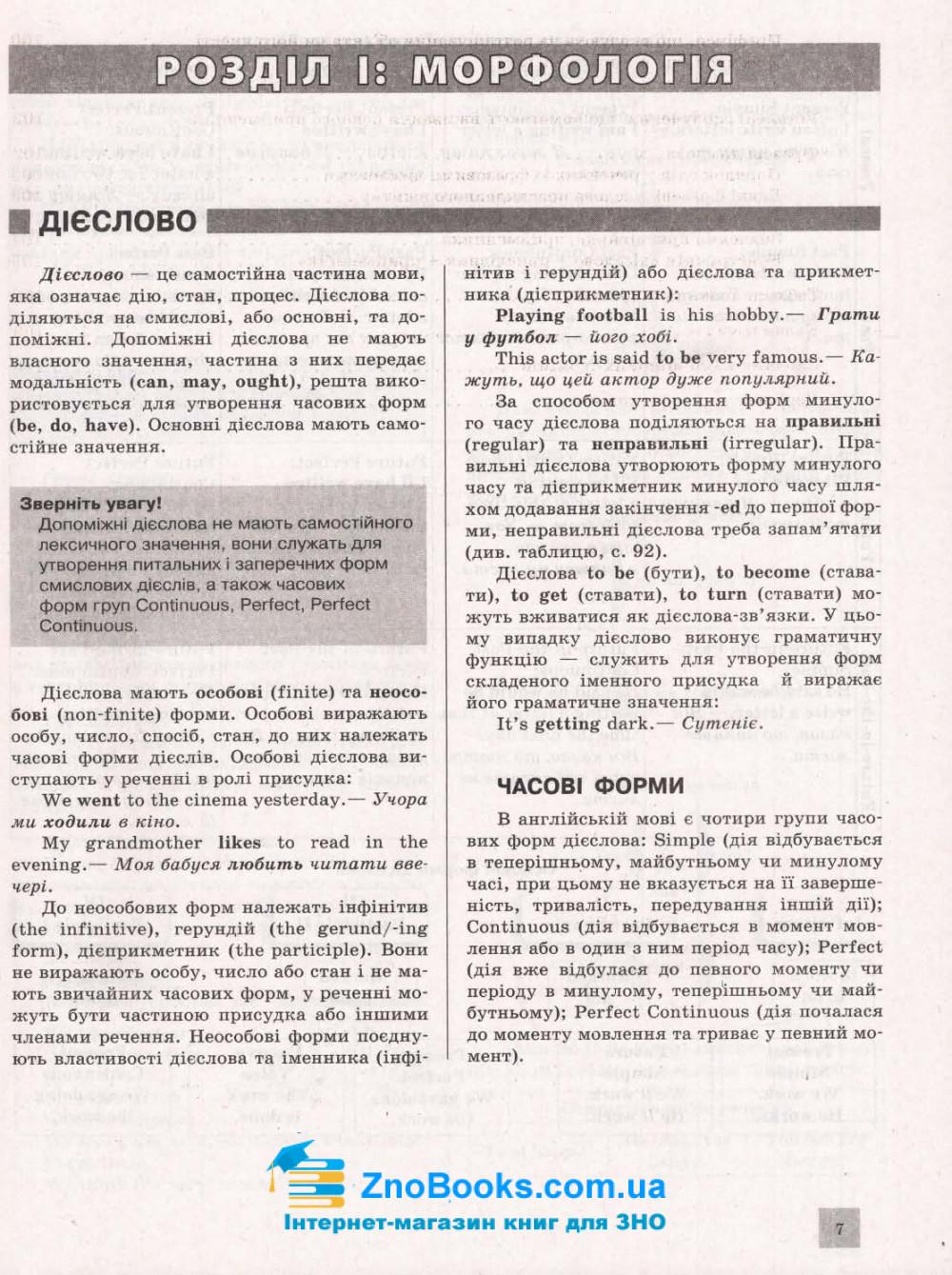 ЗНО 2021 Англійська мова. Комплексне видання : Чернишова Ю. Літера. купити 6