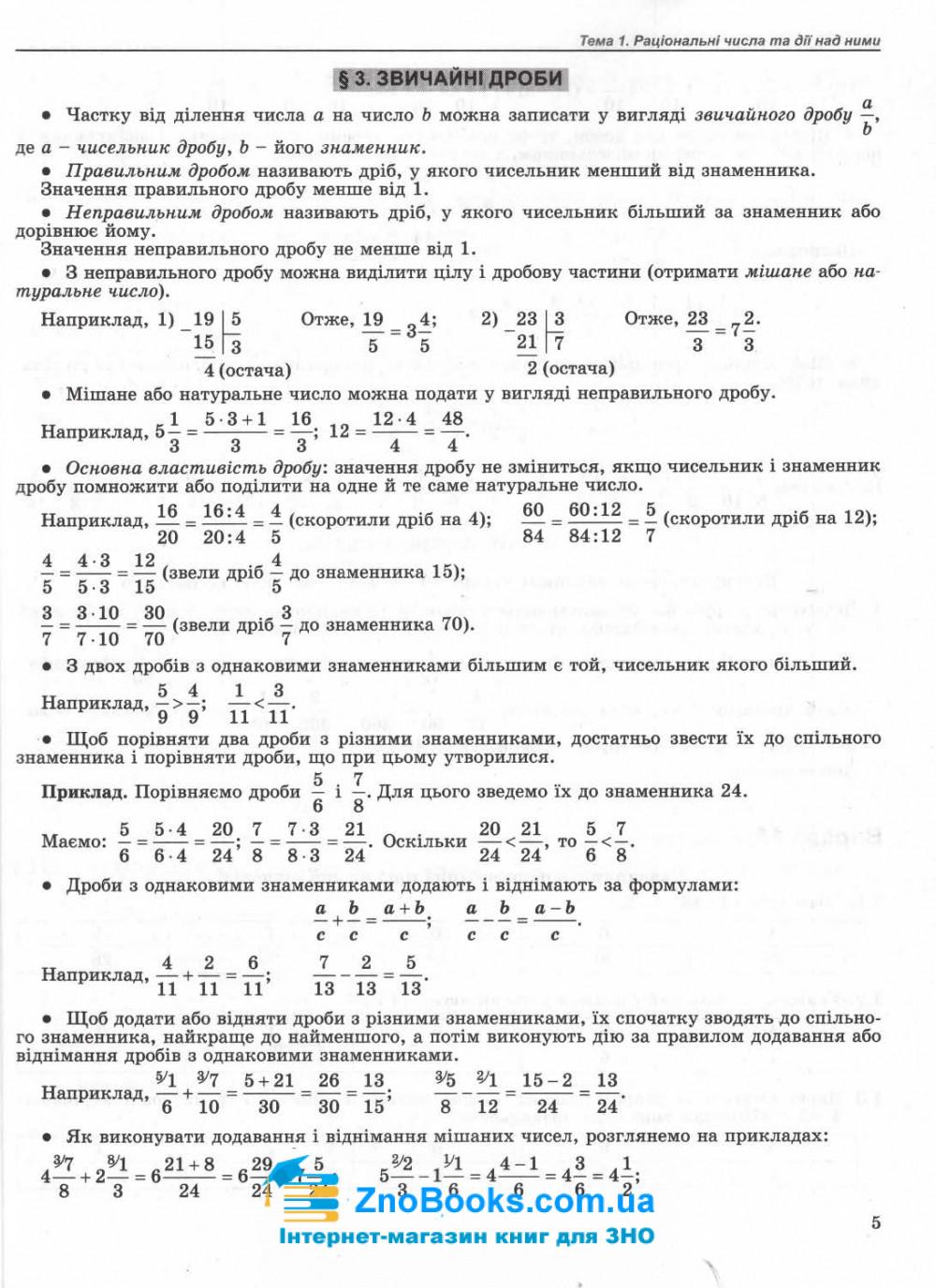 Математика ЗНО 2022. Комплексна підготовка + інтерактивні тести : Істер О. Генеза. купити 4