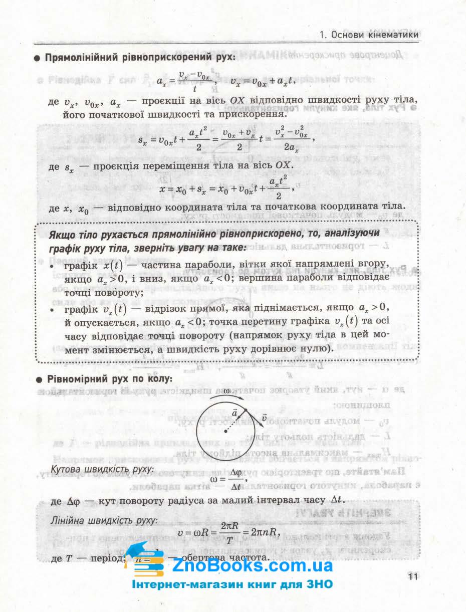 Практичний помічник з фізики  до ЗНО 2021 : Александрова Л. Літера. купити 9