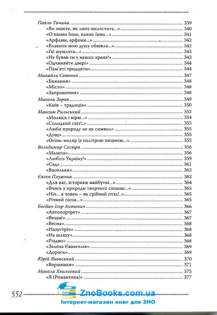 Українська література. Довідник для абітурієнтів та школярів : Мелешко В. Літера. купити 13