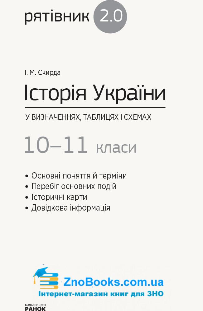 Історія України у визначеннях, таблицях і схемах для учнів 10—11 класів та абітурієнтів. Серiя