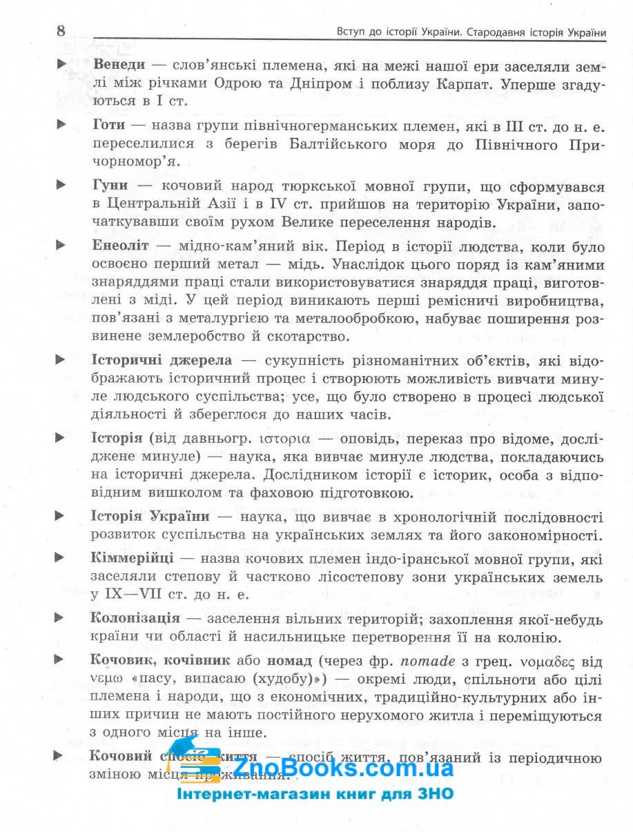 ЗНО 2021 історія України. Енциклопедія тестів : Мартинюк О. Ранок. купити 7