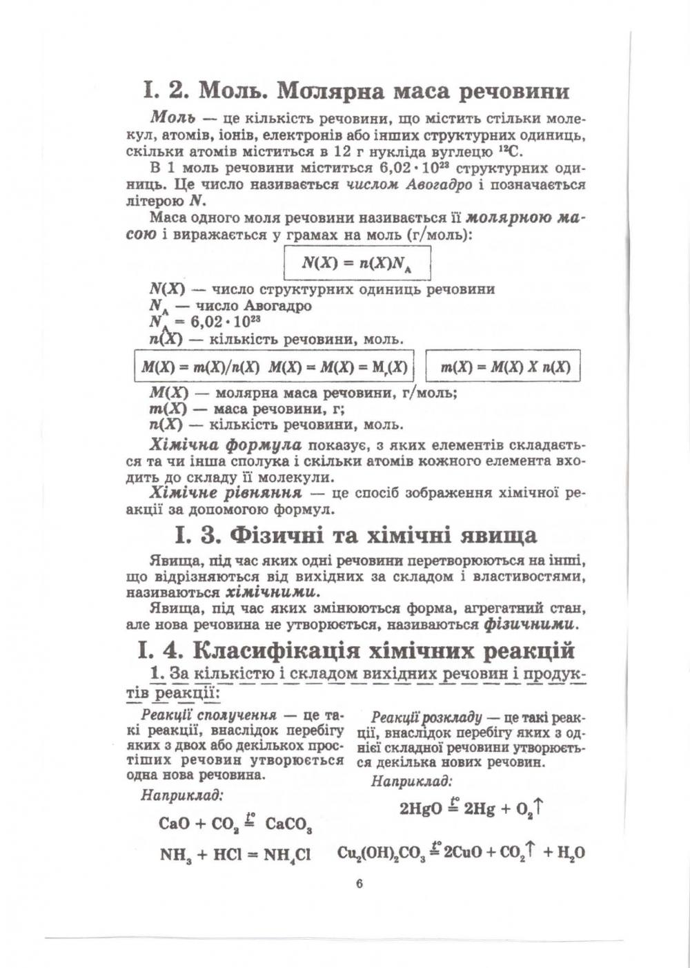 Хімія в таблицях і схемах 7-11 класи. Авт: Гройсман І. Вид-во: Логос. купити 7