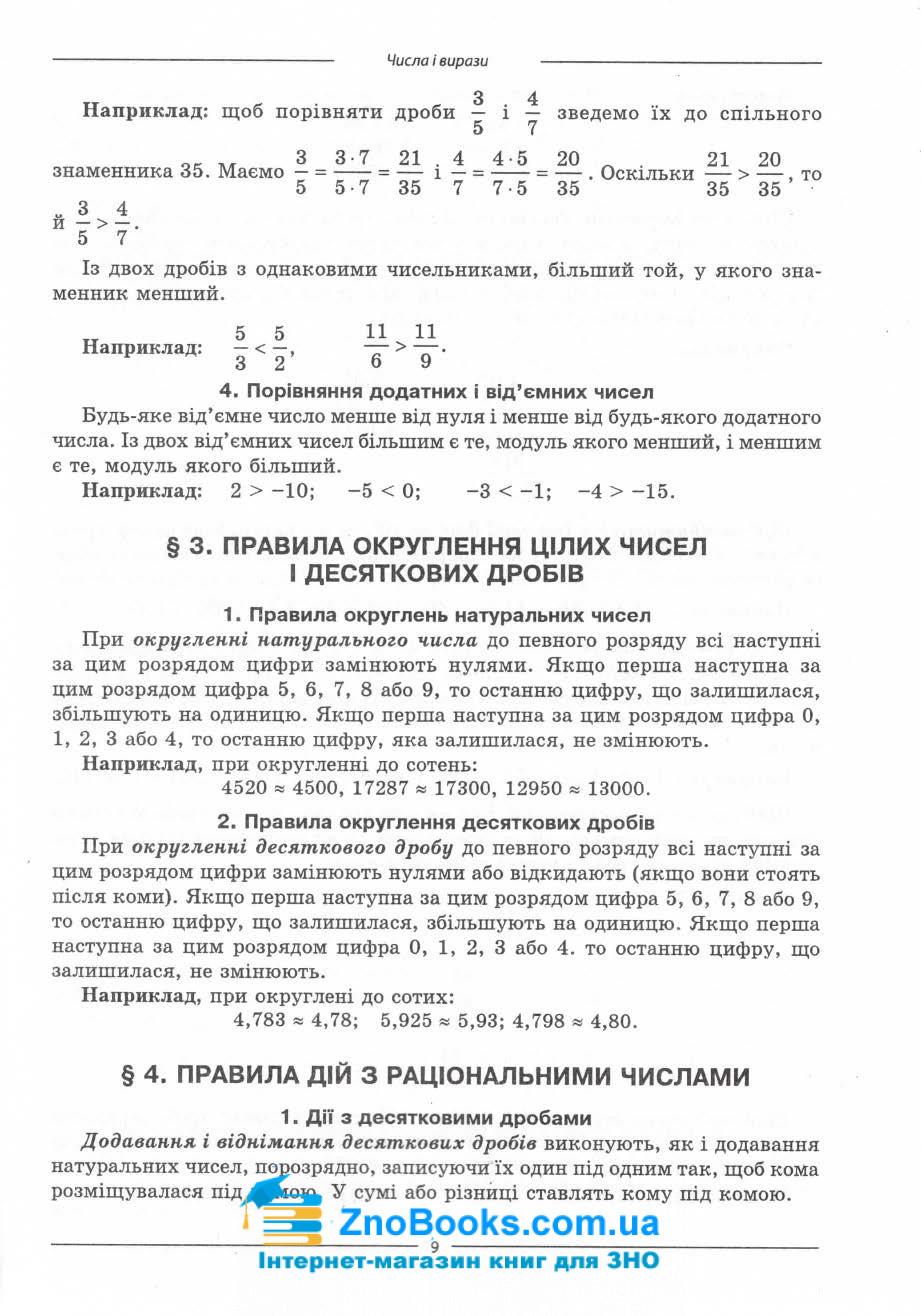 Математика ЗНО 2021. Комплексне видання : профільний рівень стандарту. Істер О. 10