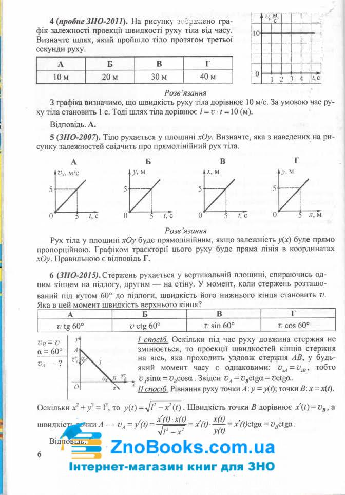ЗНО 2021 Фізика. Міні-довідник : Струж Н. Підручники і посібники. купити 6