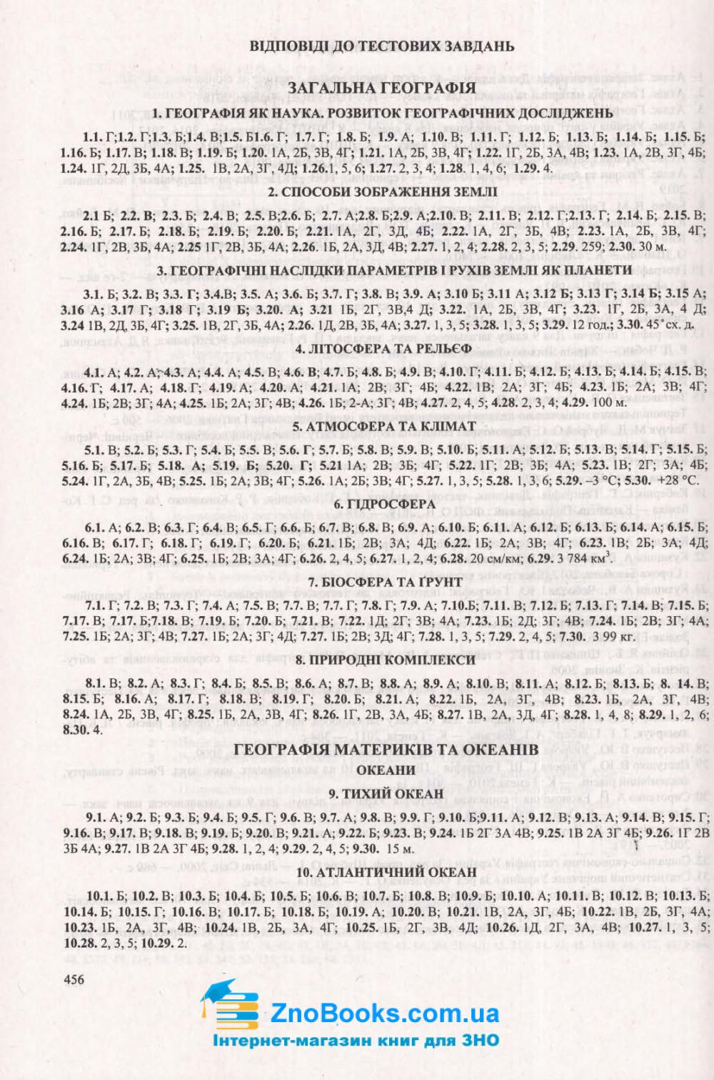ЗНО 2021 Географія. Комплексне видання : Кузишин А. Підручники і посібники. купити 14