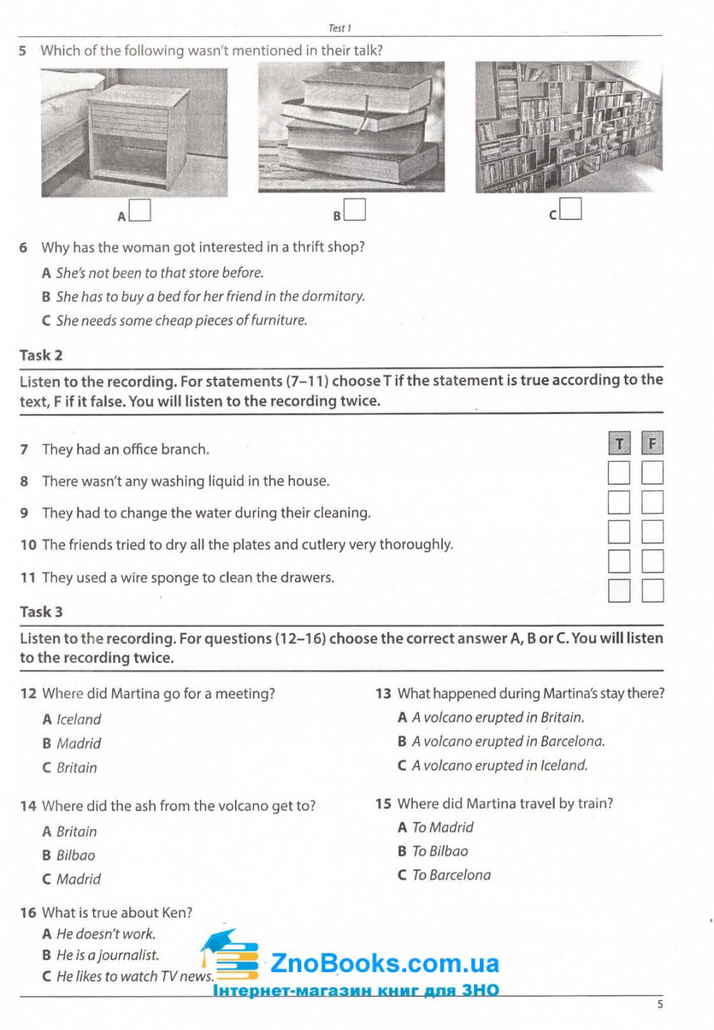 ЗНО 2020 Англійська мова. Complete Practice Test : Євчук О., Доценко І. Абетка купити 5