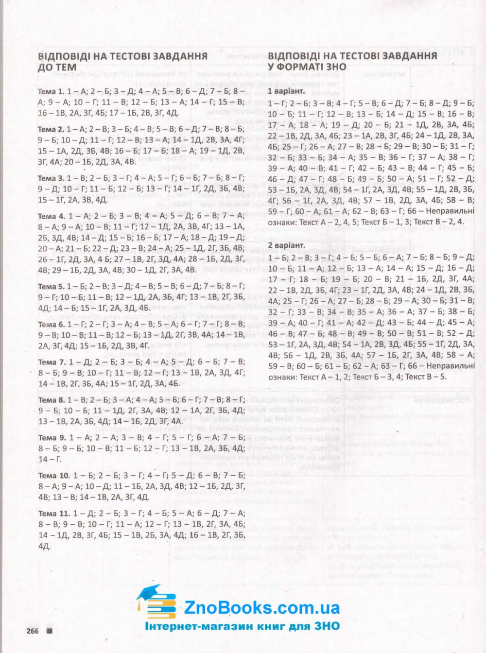 ЗНО 2022 Українська література. Комплексне видання :  Радченко І.  Літера. купити 10