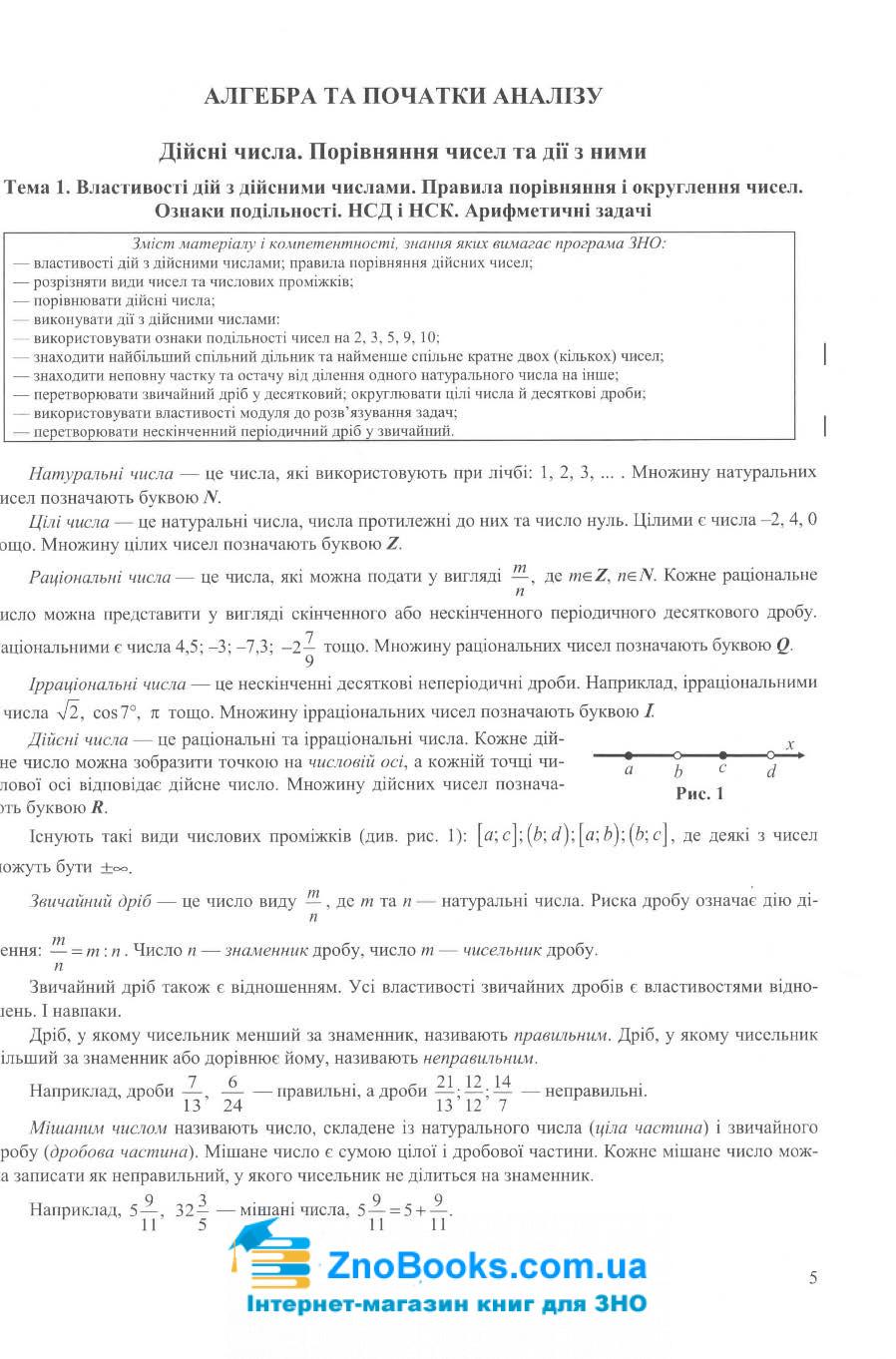 Математика. Довідник ЗНО 2022 : Капіносов А.  Підручники і посібники. купити 5