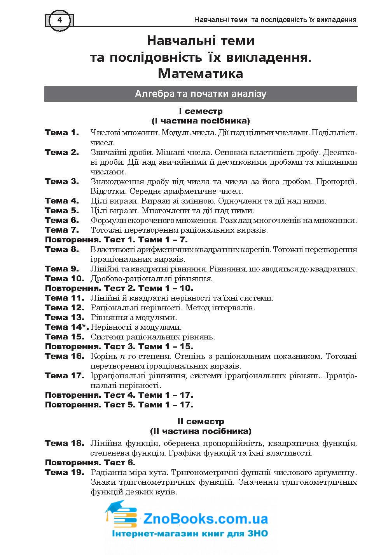 ЗНО 2021 Математика: Комплексне видання ( Клочко ) Алгебра і початки аналізу Частина 2. Навчальна книга - Богдан 2