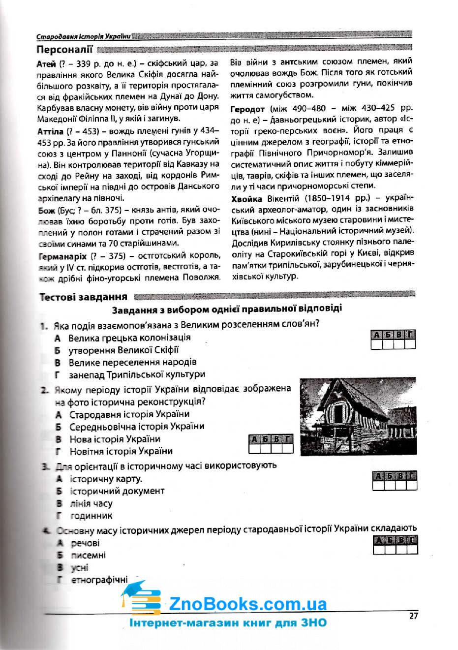 Історія України ЗНО 2021. Довідник + тести : Гісем О. Абетка. купити  12