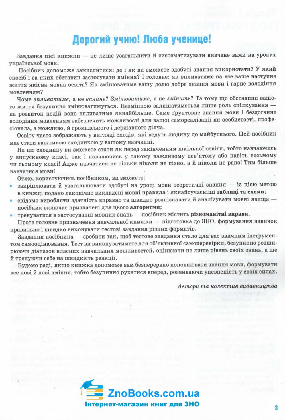 Українська мова ЗНО 2021. Комплексне видання : Глазова О. Освіта купити 3