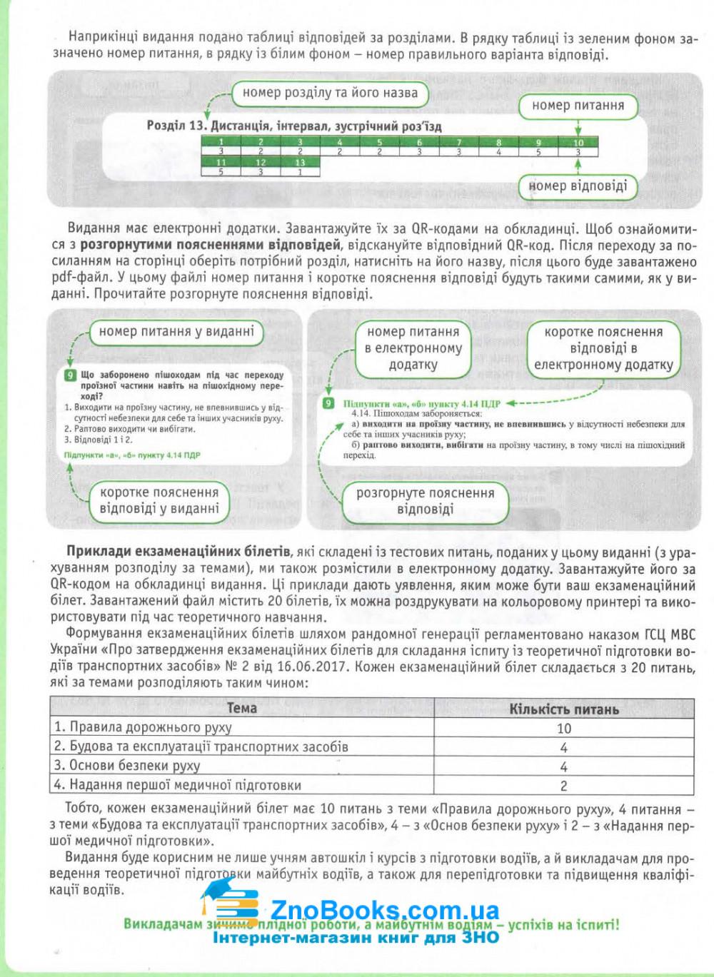 Тестові питання до екзаменаційних білетів для складання іспиту з ПДР : відповідає офіційному тексту 3