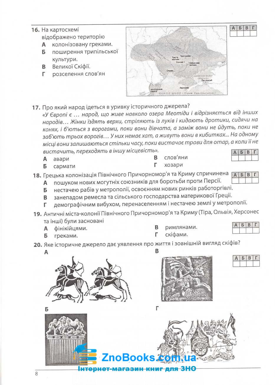 1100 тестів Історія України ЗНО 2021. Збірник  + кластери : Гісем О. Абетка. купити 8