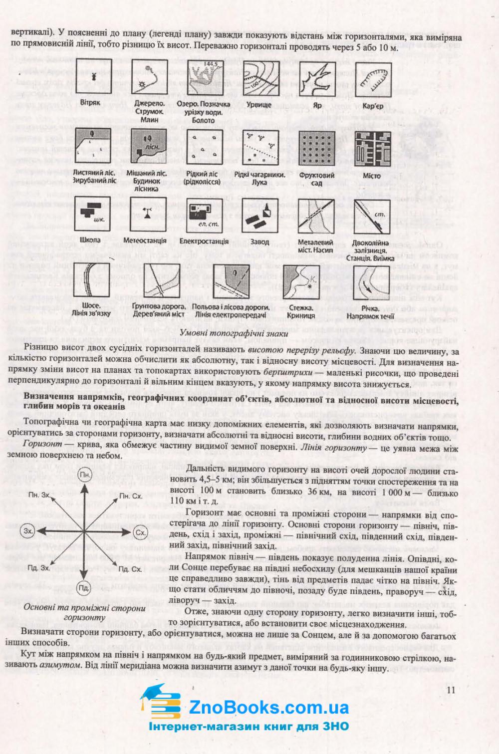 ЗНО 2021 Географія. Комплексне видання : Кузишин А. Підручники і посібники. купити 11