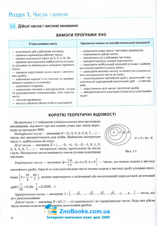 Математика ЗНО 2020.  Комплексне видання для підготовки : Бевз В. Освіта купити 4