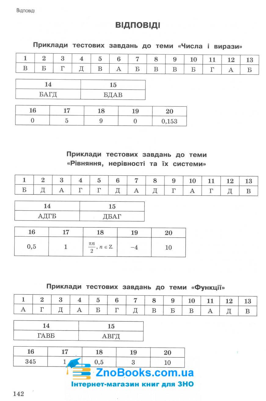 Експрес-підготовка до ЗНО. Математика : Роганін О., Виноградова Т. Асса. купити 10