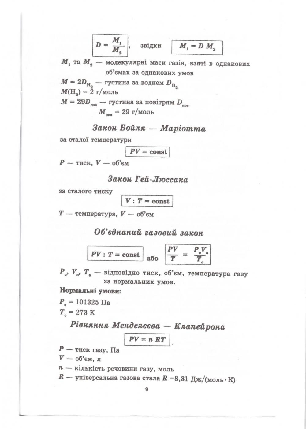 Хімія в таблицях і схемах 7-11 класи. Авт: Гройсман І. Вид-во: Логос. купити 10