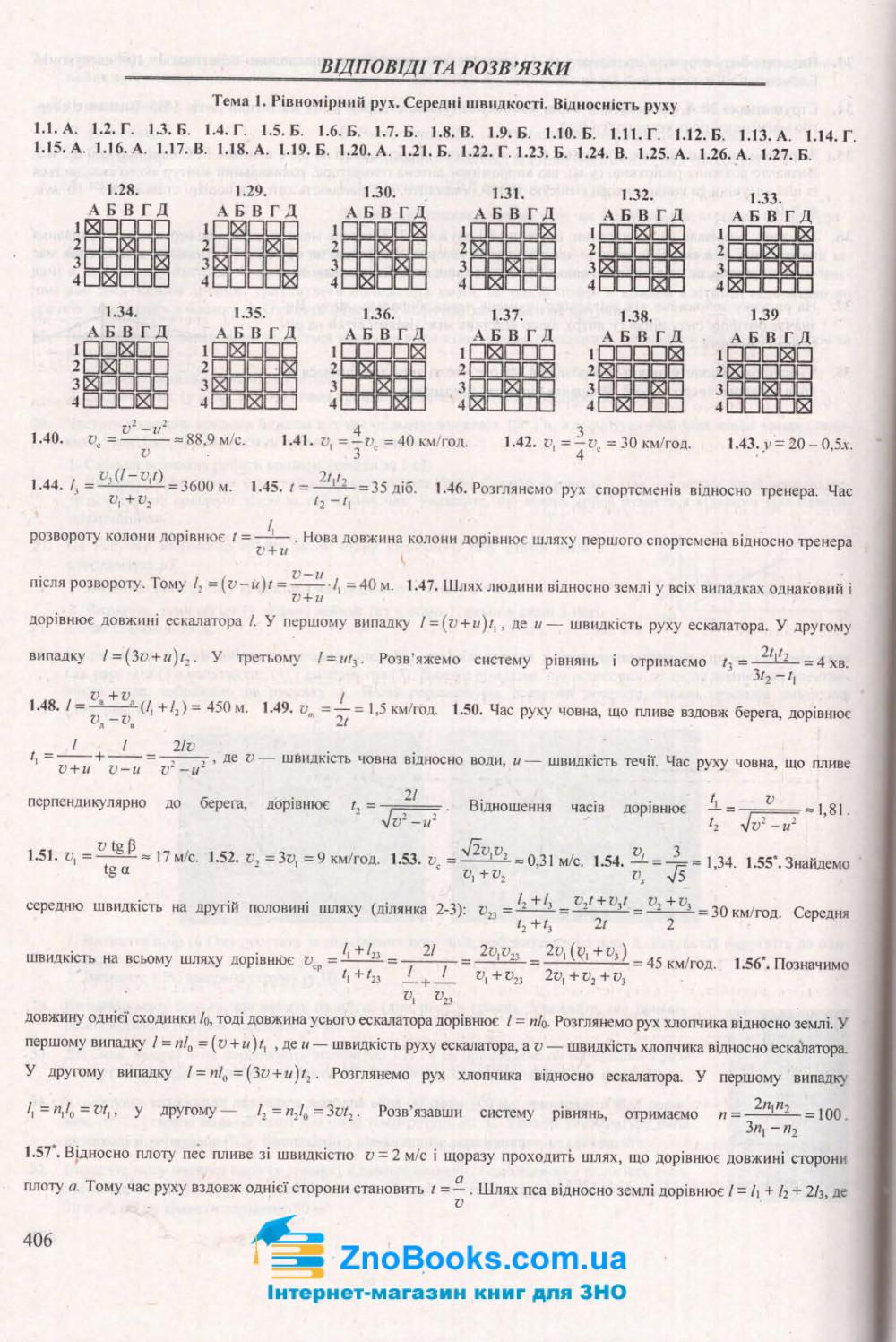 ЗНО 2021 Фізика. Комплексне видання : Струж Н. Підручники і посібники. купити 11