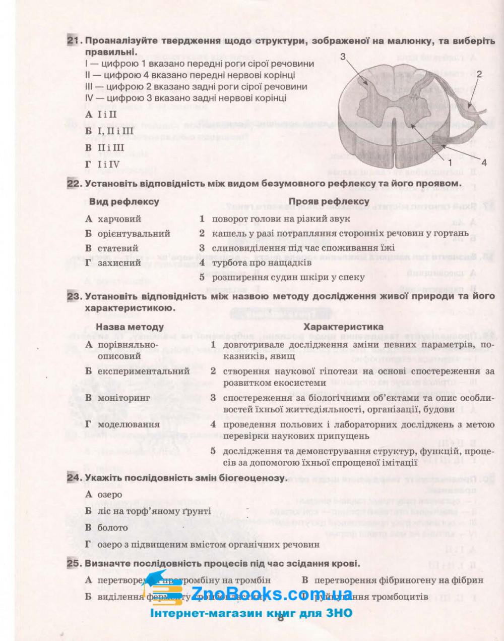 Ягенська Г. ДПА 2021 Біологія 9 клас. Збірник завдань : Освіта купити 6