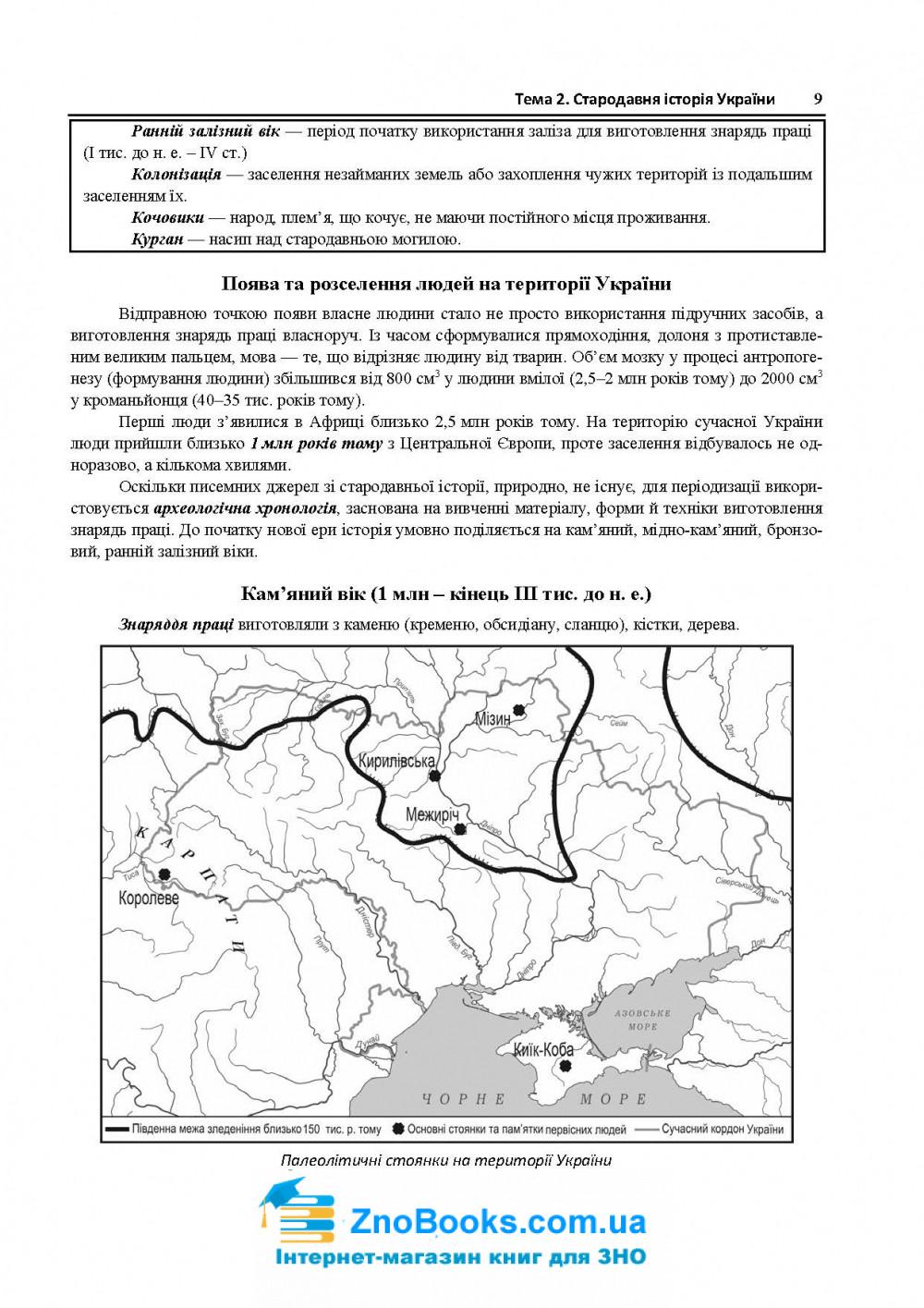 Історія України ЗНО 2021. Комплексне видання : Земерова Т. Підручники і посібники купити 7