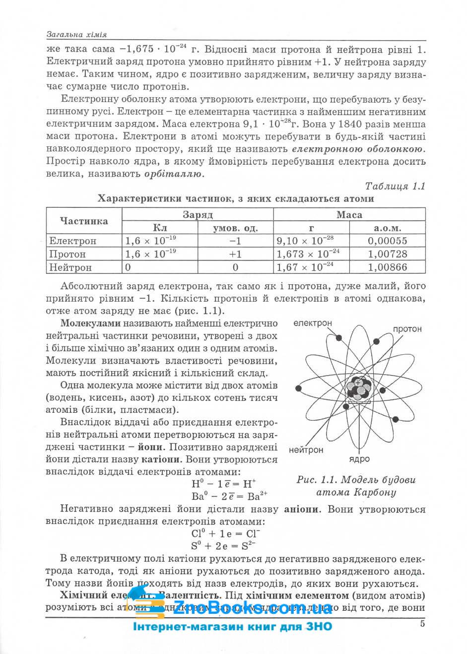 Хімія ЗНО 2022. Довідник + тести : Ярошенко О. Абетка . купити 5