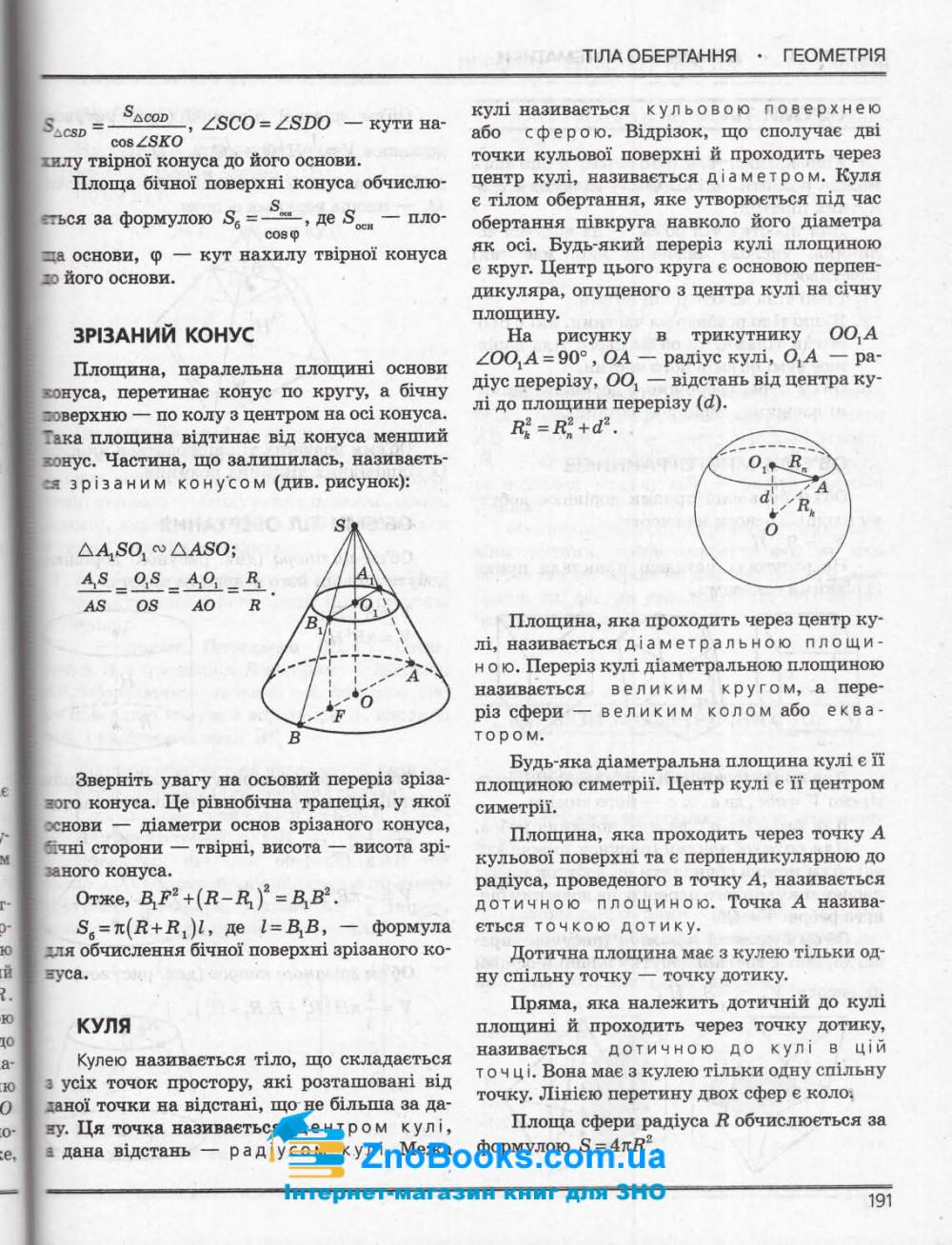 ЗНО 2021 Математика. Комплексне видання + ДПА : Гальперіна А., Забєлишинська М. Літера. купити 9