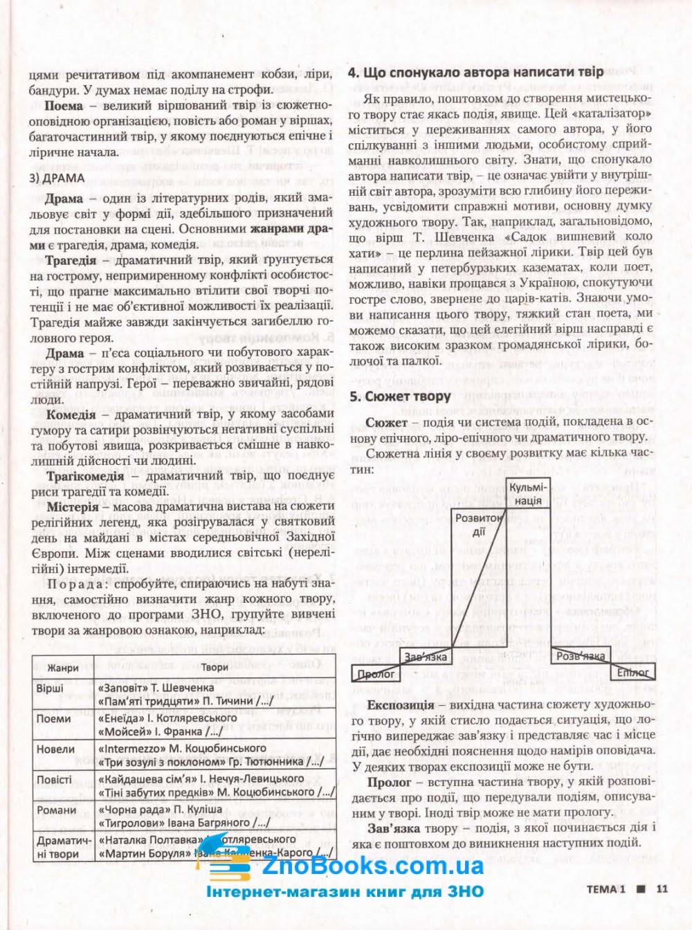 ЗНО 2022 Українська література. Комплексне видання :  Радченко І.  Літера. купити 7