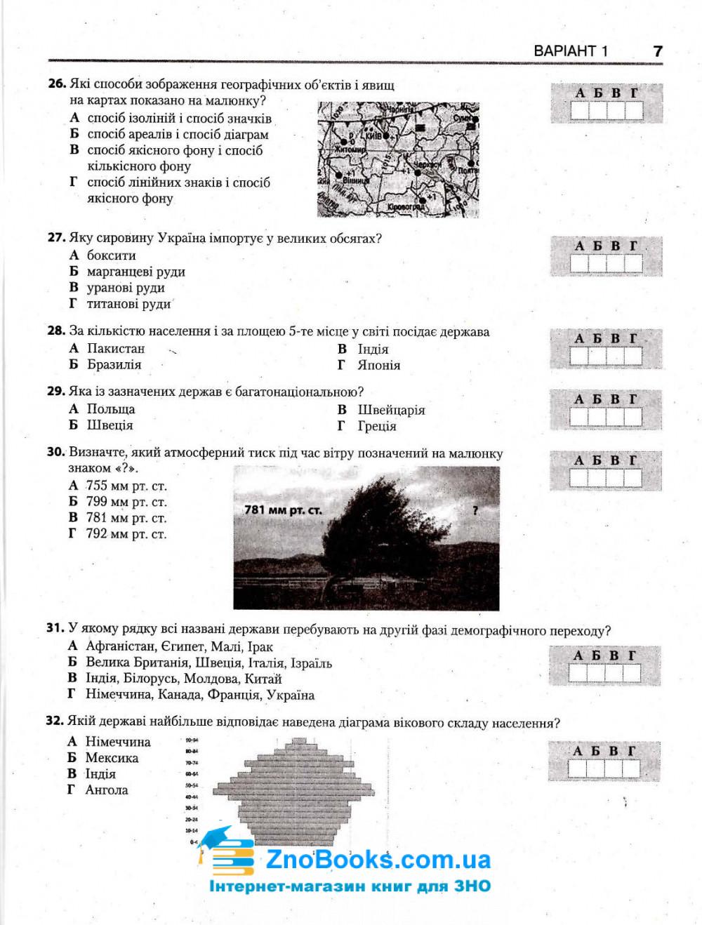 Географія ЗНО 2021. Комплексне видання + типові тестові завдання /КОМПЛЕКТ/ : Кобернік С., Коваленко Р. Надтока О. Літера 14