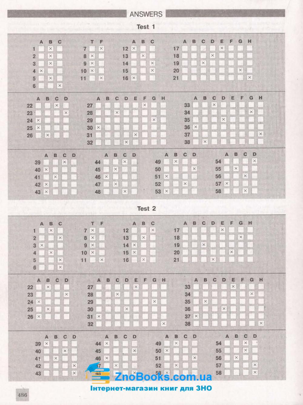 ЗНО 2021 Англійська мова. Комплексне видання : Чернишова Ю. Літера. купити 12