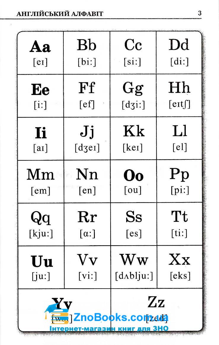 Граматика англійської мови в таблицях і схемах : Зайцева А. Логос. купити 5