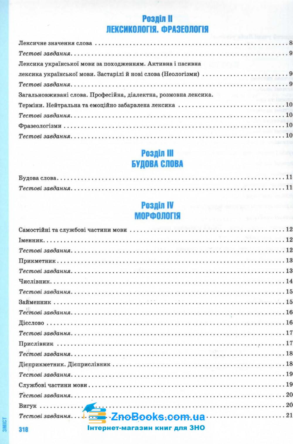 Українська мова ЗНО 2021. Комплексне видання : Глазова О. Освіта купити 13